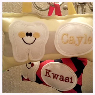 Customising with your childs name
